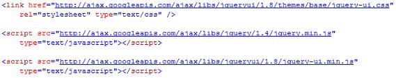 jQuery Links