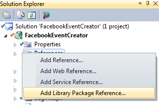 Add Library Package
