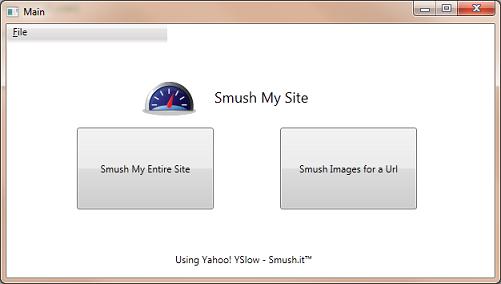 SmushMySite - Main